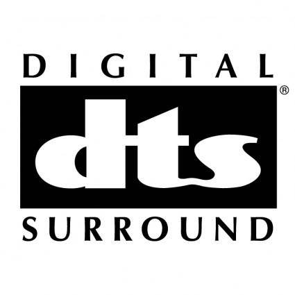 free vector Digital dts surround 0