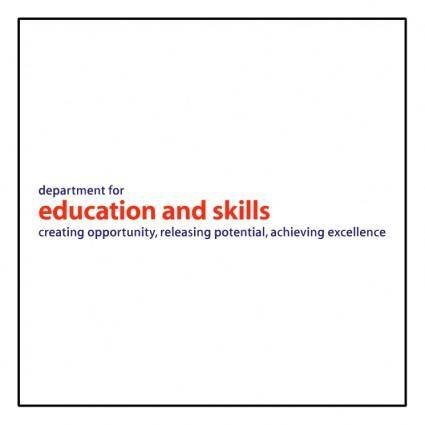 Dfes department for education and skills