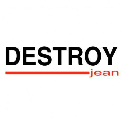 Destroy jean