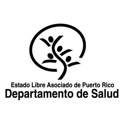 free vector Departamento de salud de puerto rico