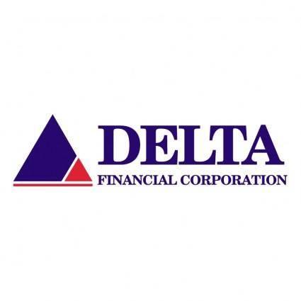 free vector Delta financial corp 0