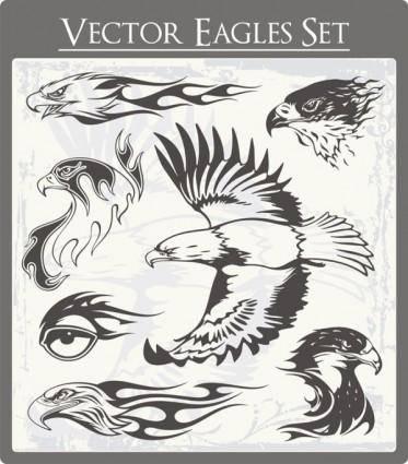 free vector Eagle 01 vector