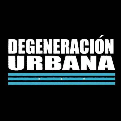 Degeneracion urbana
