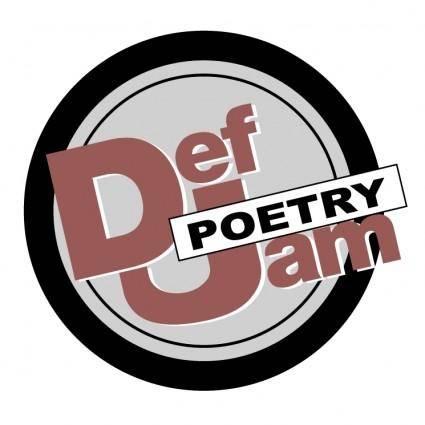 free vector Def jam poetry