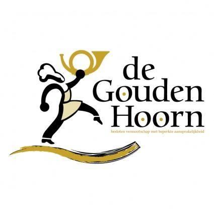 free vector De gouden hoorn