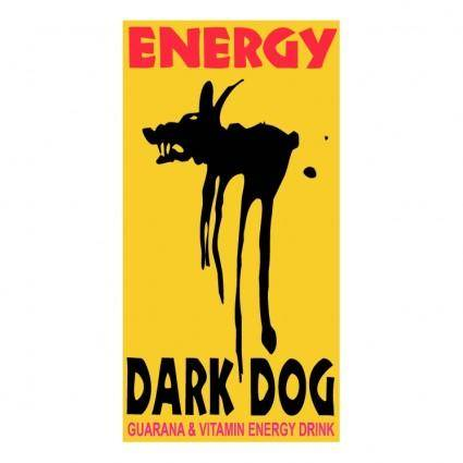 free vector Dark dog