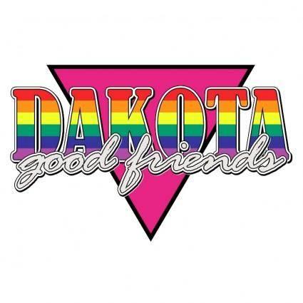 free vector Dakota good friends