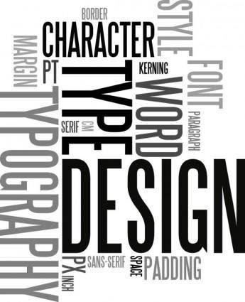 free vector Letter plate design 01 vector