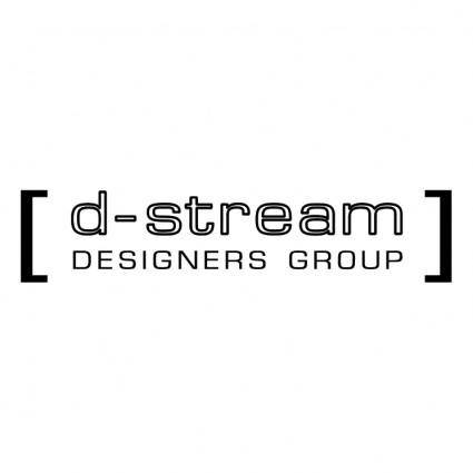 free vector D stream designers group