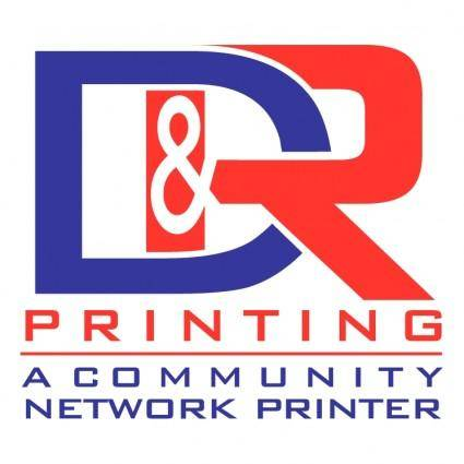 free vector D and r printing