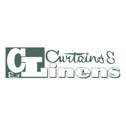 Curtains linens