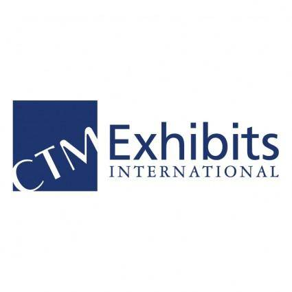 free vector Ctm exhibits international