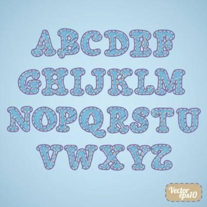 Font design series 58 vector
