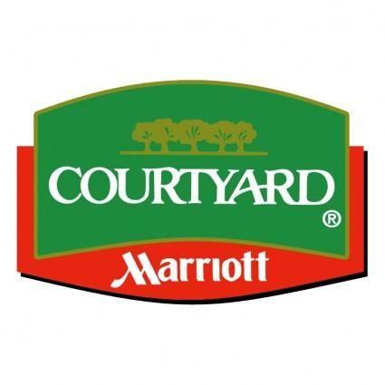 free vector Courtyard 2