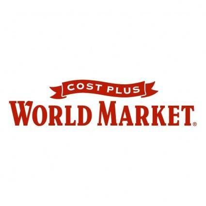 Cost plus world market