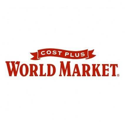 free vector Cost plus world market