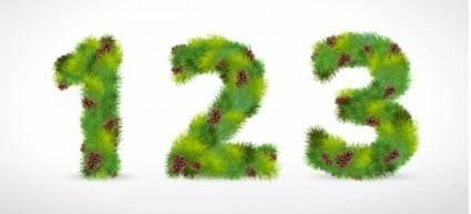 free vector Font design series 28 vector