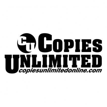 Copies unlimited