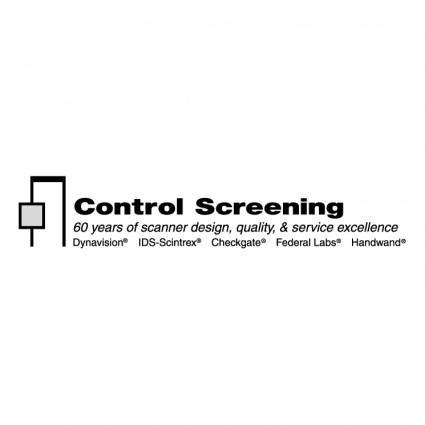 free vector Control screening