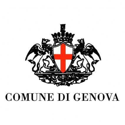 free vector Comune di genova