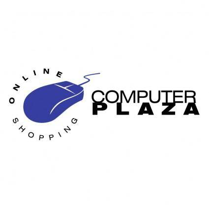 free vector Computer plaza