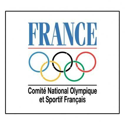 free vector Comite national olympique et sportif francais
