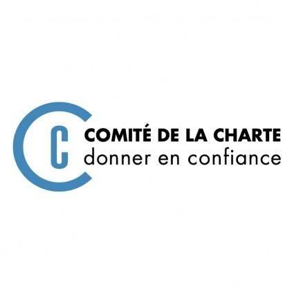 free vector Comite de la charte