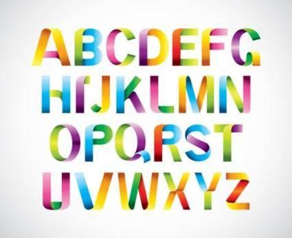 Font design series 39 vector