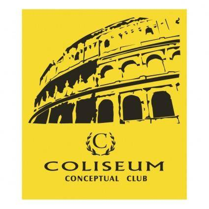 free vector Coliseum conceptual club