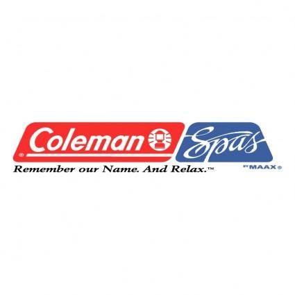 free vector Coleman spas