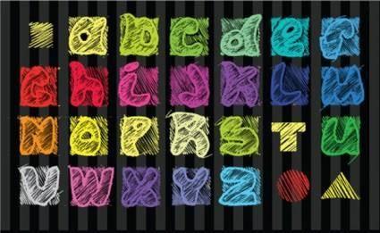 Font design series 33 vector