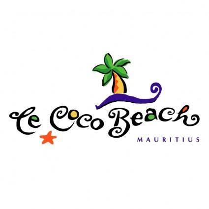 free vector Coco beach