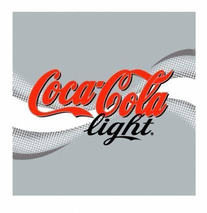 free vector Coca cola light 3