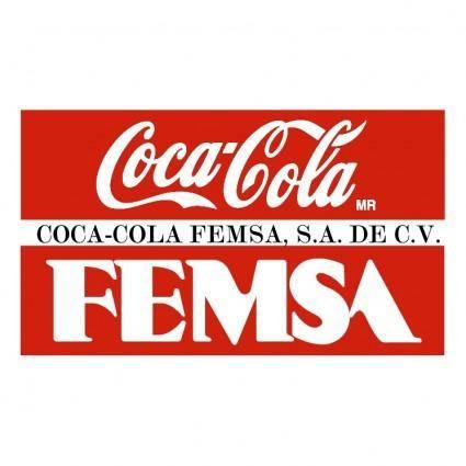 free vector Coca cola femsa