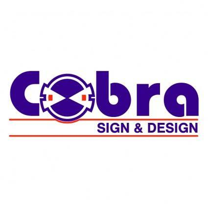 free vector Cobra sign e design