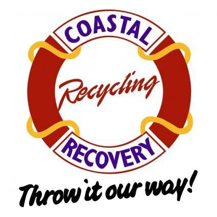 free vector Coastal recovery recycling