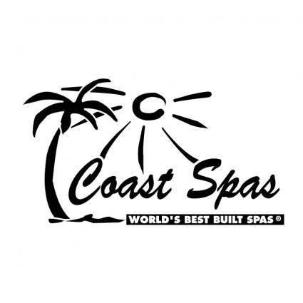 free vector Coast spas