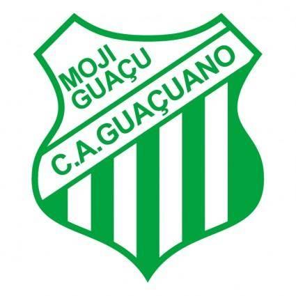 free vector Clube atletico guacuano de moji guacu sp