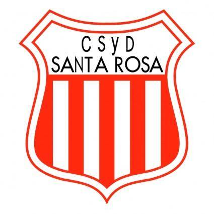 free vector Club social y deportivo santa rosa de colonia san jose
