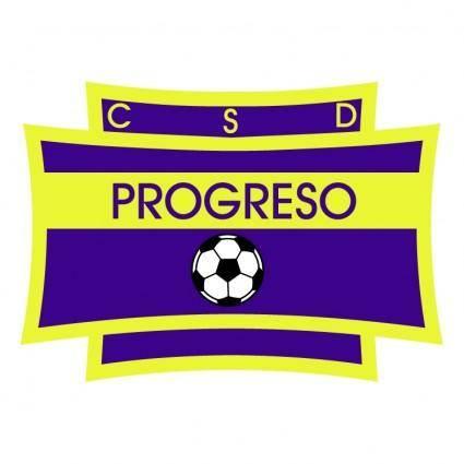 free vector Club social y deportivo progreso de tinogasta