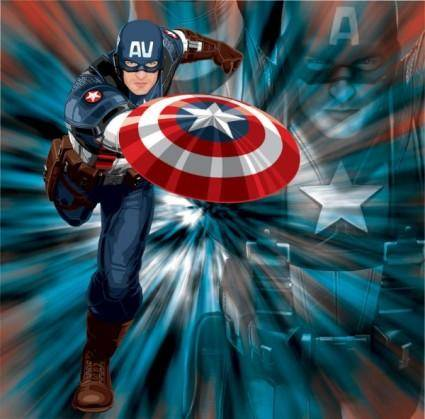 Us captain vector
