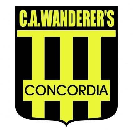 free vector Club atletico wanderers de concordia