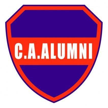 free vector Club atletico alumni de parana