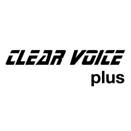 free vector Clear voice plus