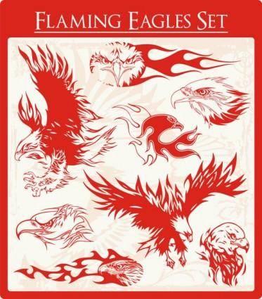 free vector Eagle 02 vector