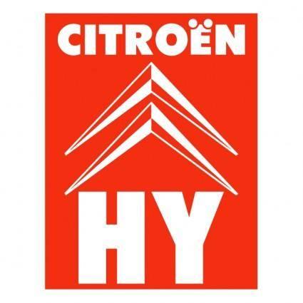 free vector Citroen hy