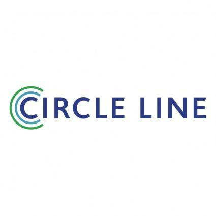 free vector Circle line