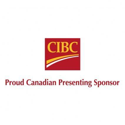 free vector Cibc proud sponsor