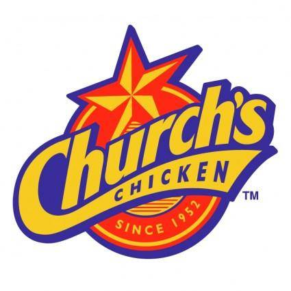 free vector Churchs chicken 2