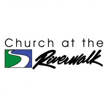 free vector Church at the riverwalk